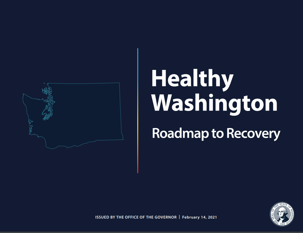 Image of Healthy Washington Roadmap to Recovery plan