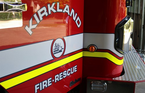 photo of Kirkland Fire and Rescue door