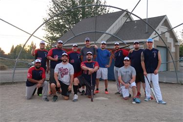 2019 Softball League Champions