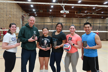 2019 Snowballin Volleyball Champions