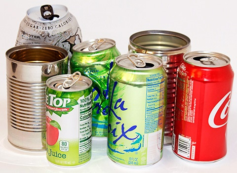 metal cans for recycling