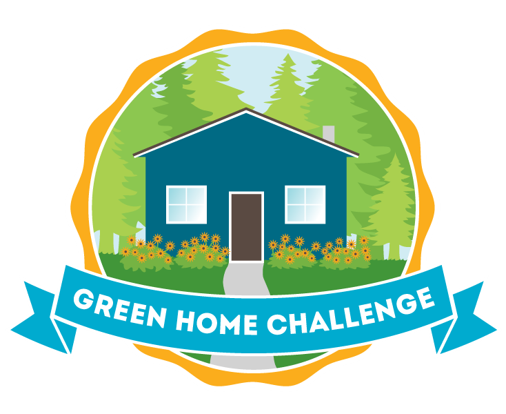 Badge for the Green Home Challenge